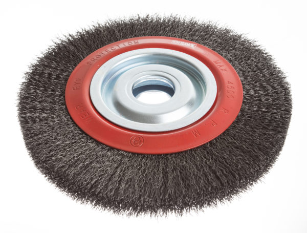 Circular wire brushes