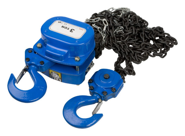 Chain lifting blocks