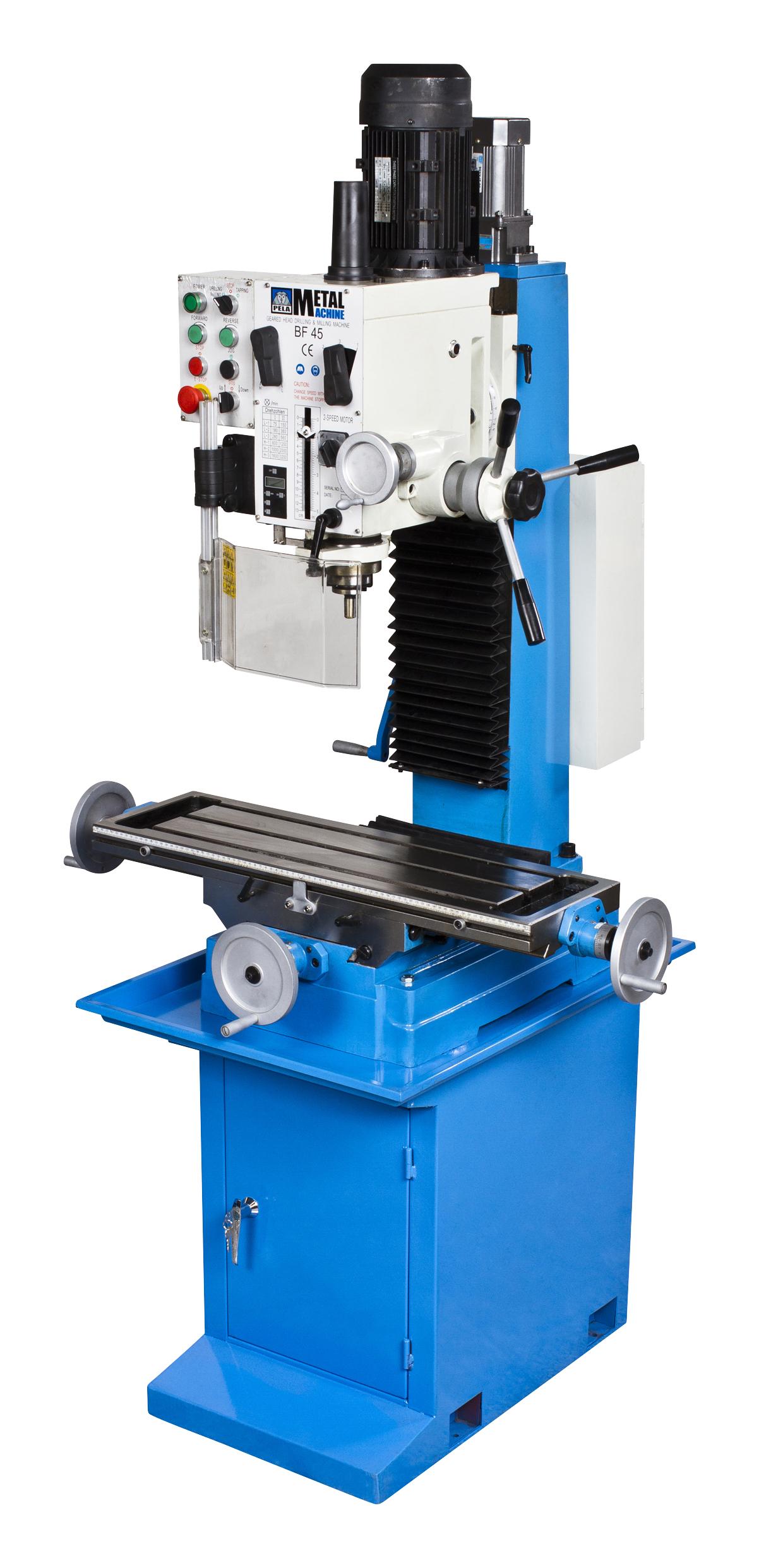 Buy Drill & milling machine BF45 Digital at Pela Tools