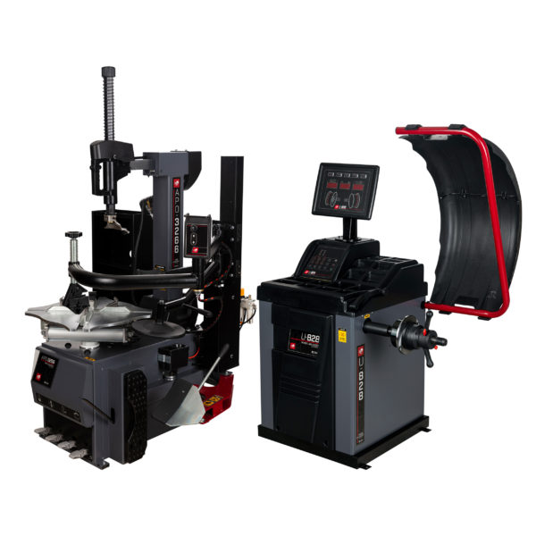 Tyre changer & wheel balancer packages